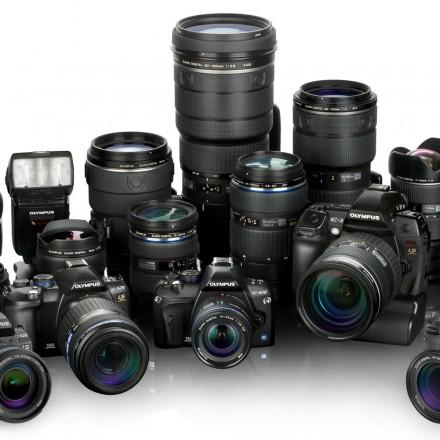 Olympus zestaw fotograficzny