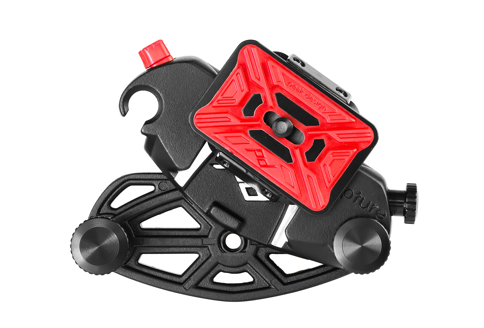 Rozłożony adapter wraz z szybkozłączką