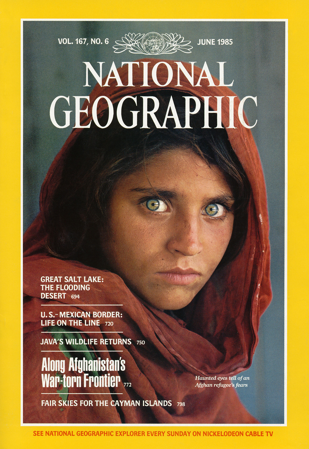 NGM Cover, June 1985