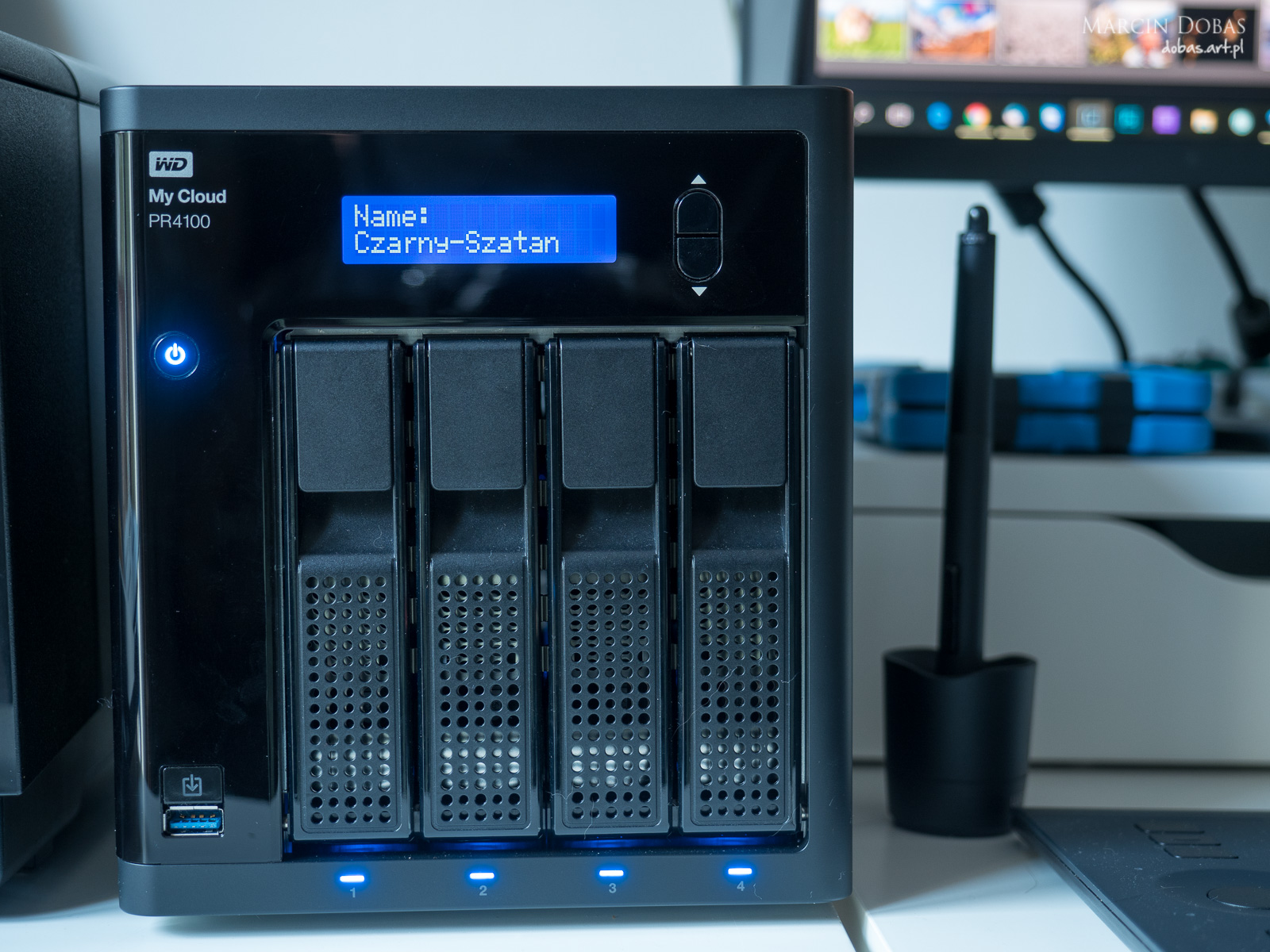 Dysk NAS 4x8TB w macierzy RAID