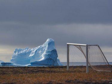 Iceberg near Disko Island, Greenland