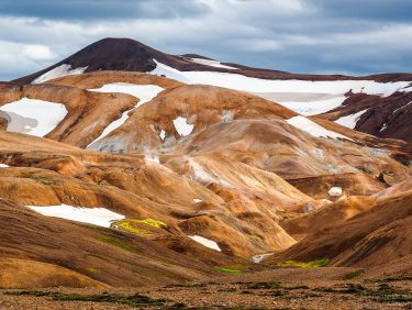 Kerlingafjoll - colorfull geothermal region , Iceland