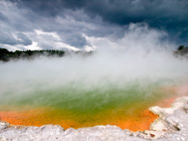 Champagne Pool, geothermal region, New Zealand