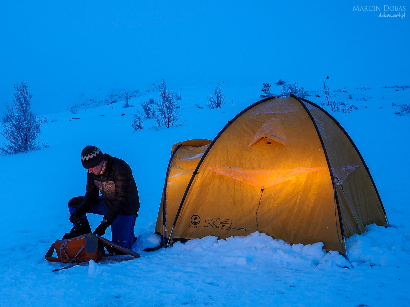 Marabut K2 Expedition, Marmot  Ares i Lowepro Flipside Sport