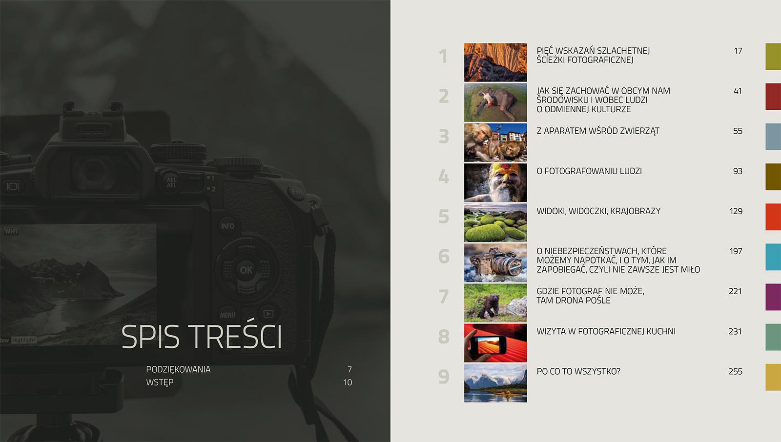 Marcin Dobas fotowyprawy spis treści