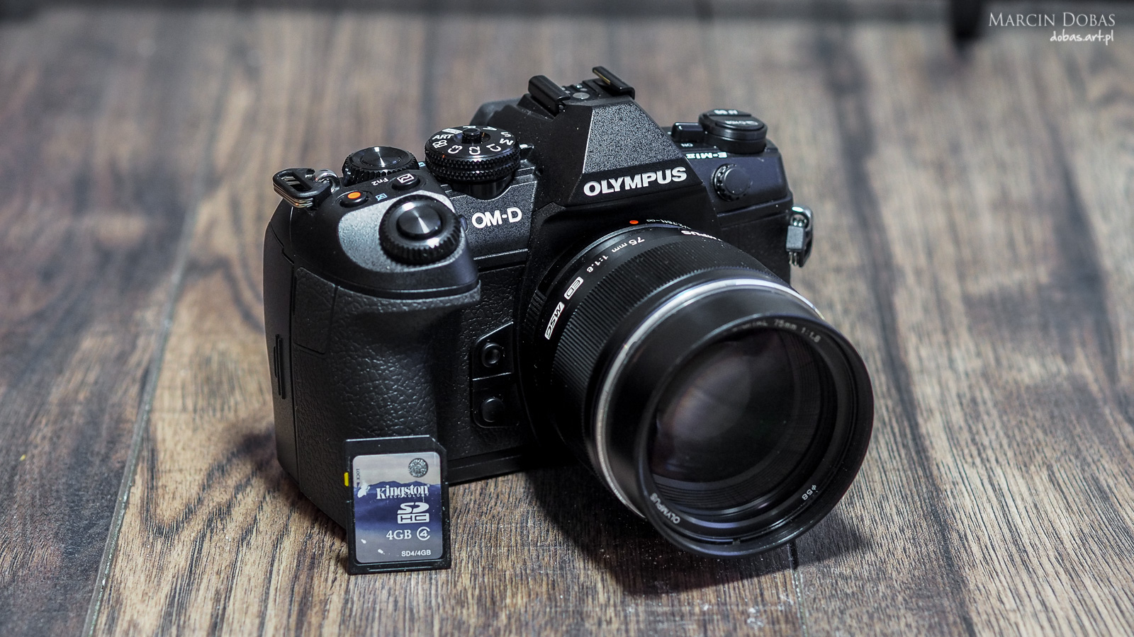 OM-D E-M1 Mark II + Kingstone klasy IV